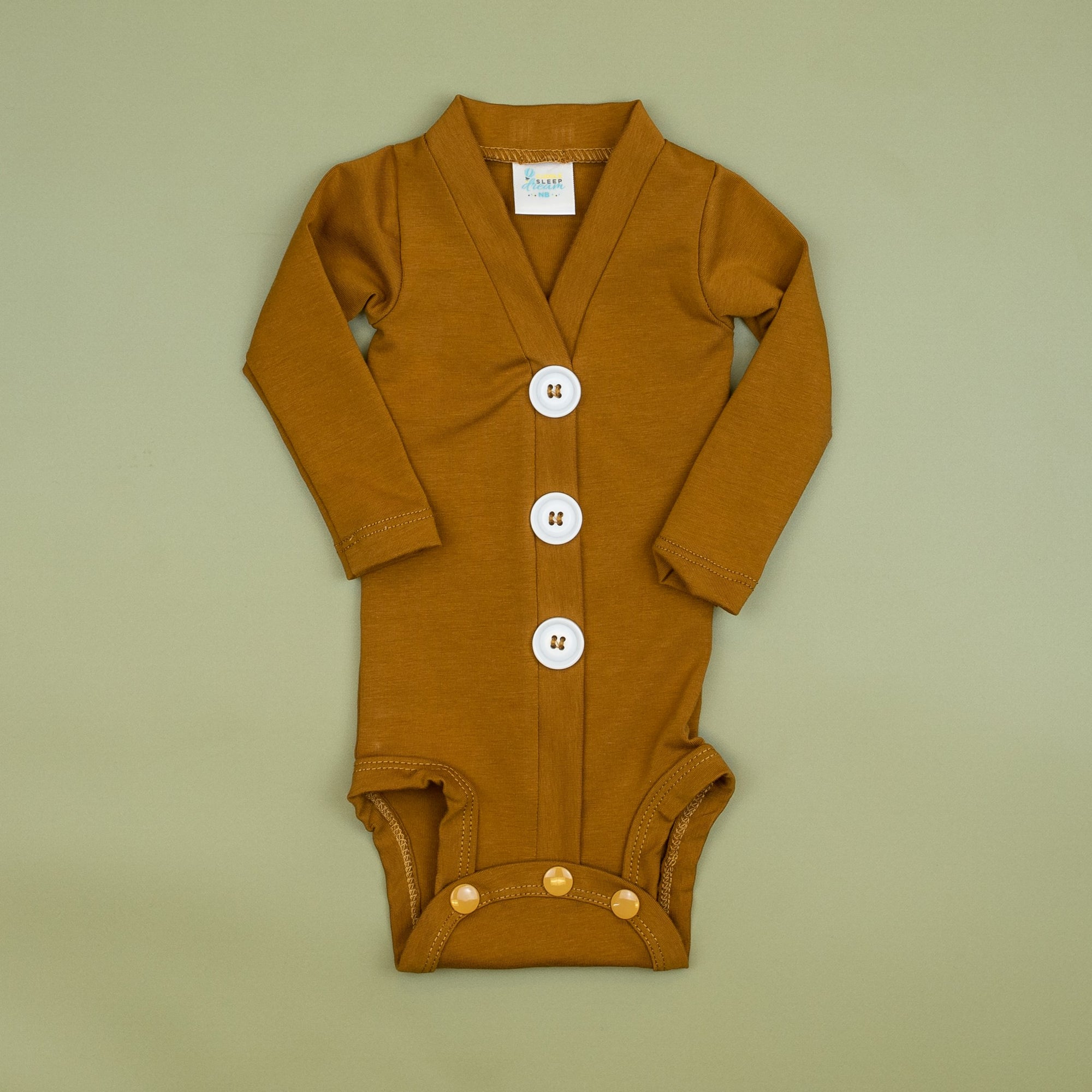 Cuddle Sleep Dream Cardigan Gingerbread Cardisuit (Nov 2020)