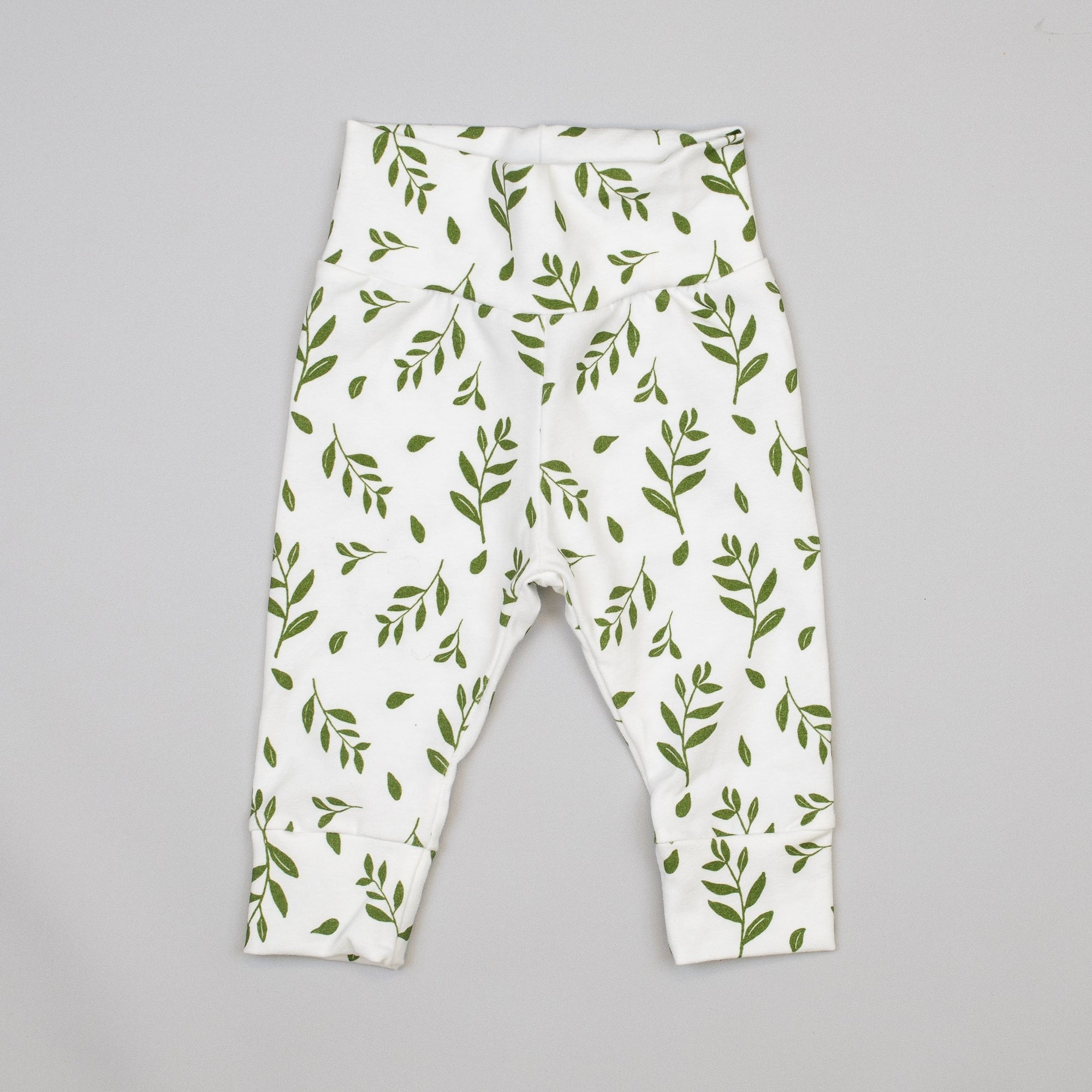 Cuddle Sleep Dream Greenery Leggings