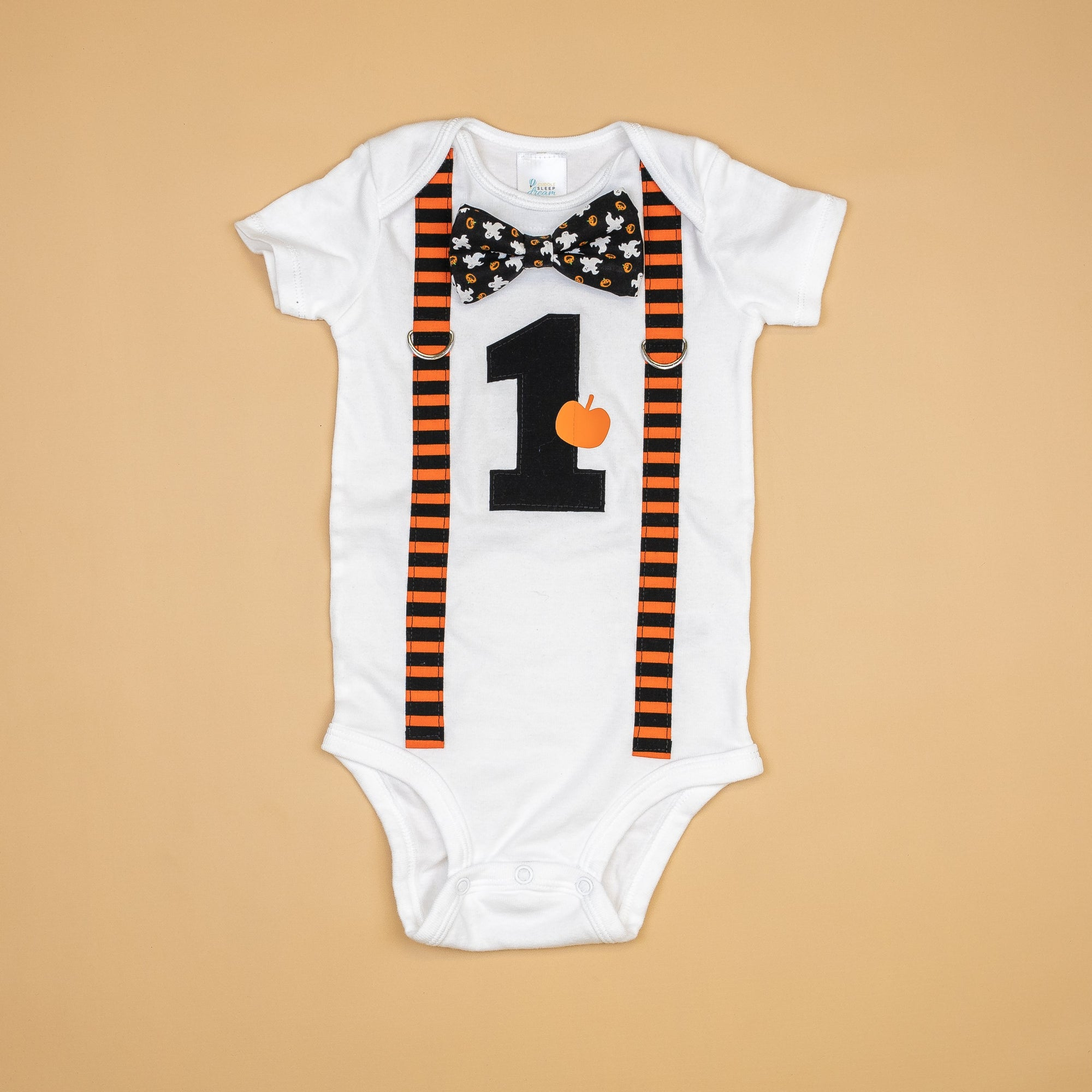Cuddle Sleep Dream Halloween 1st Birthday Onesie