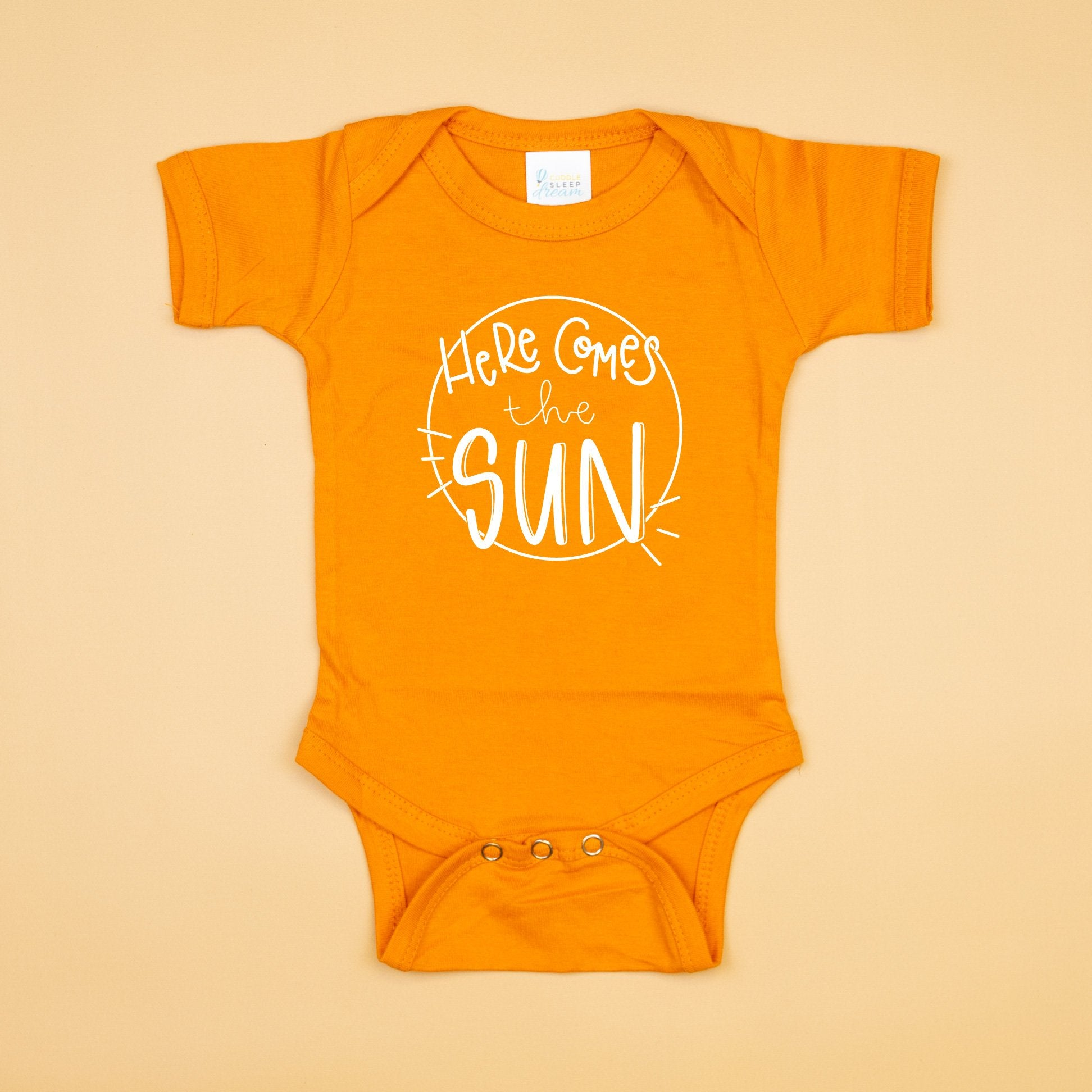 Cuddle Sleep Dream Here Comes the Sun Onesie
