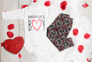 Cuddle Sleep Dream Mama's Boy Heart Joggers - 1 week turnaround