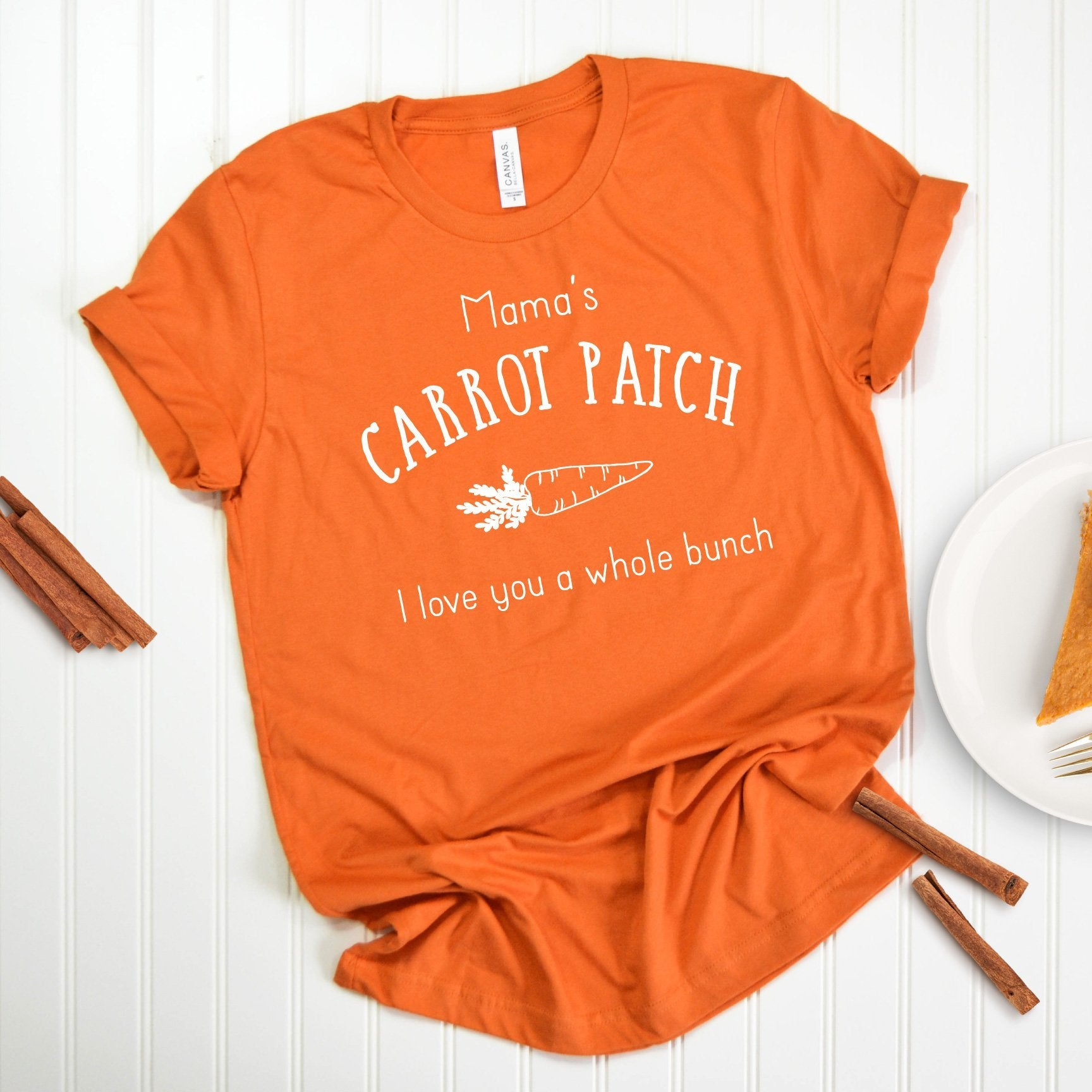 Cuddle Sleep Dream Mama's Carrot Patch Tee