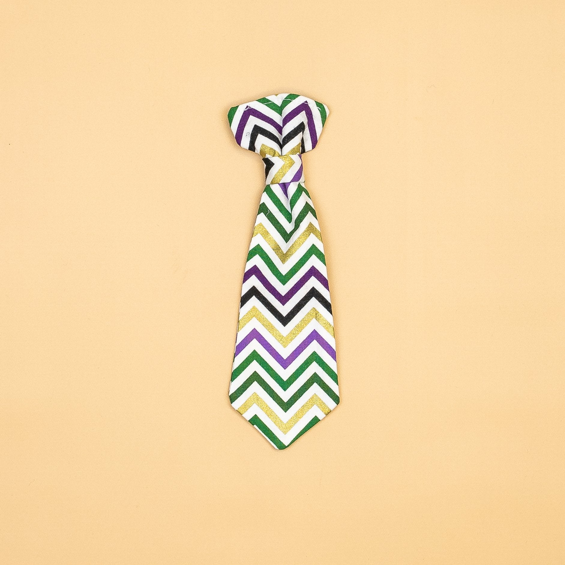 Cuddle Sleep Dream extras Mardis Gras Snap-On Ties