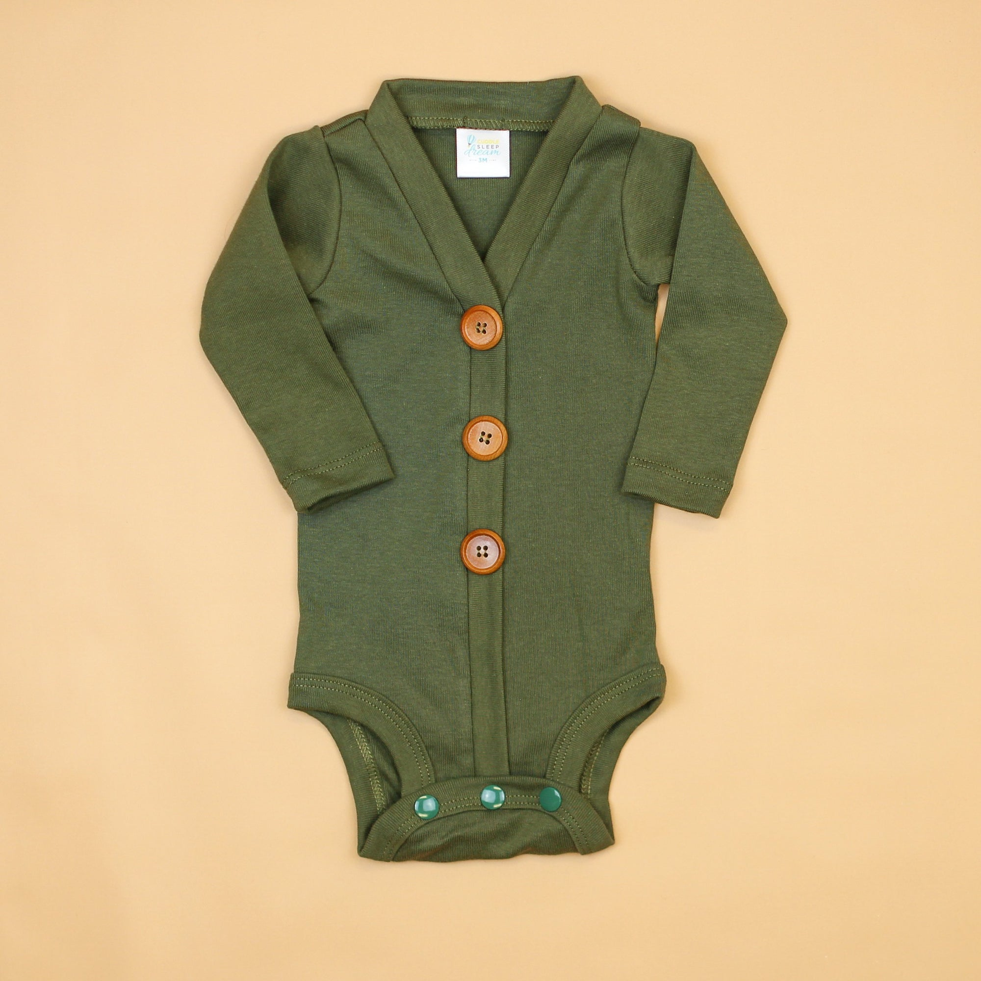 Cuddle Sleep Dream Cardigan Moss Cardisuit (Sep 2019)