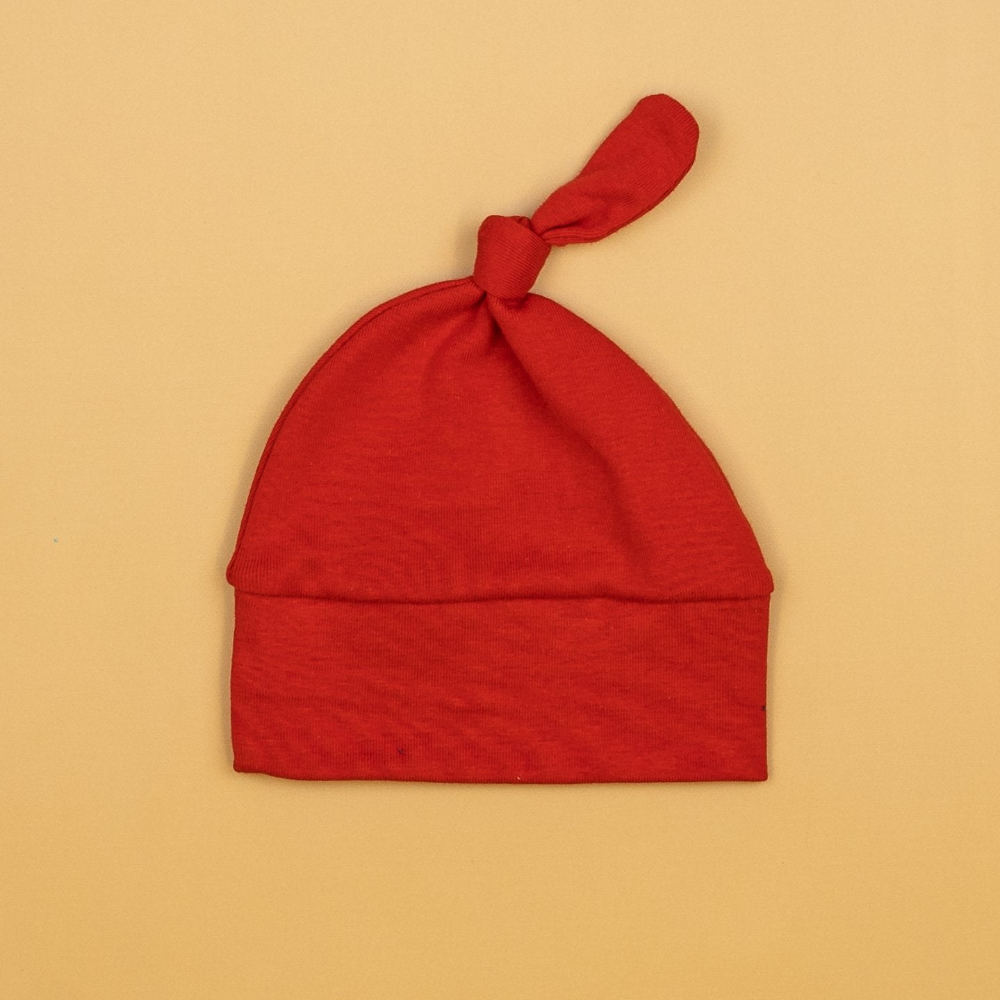 Cuddle Sleep Dream Knot Hat Red Knot Hat