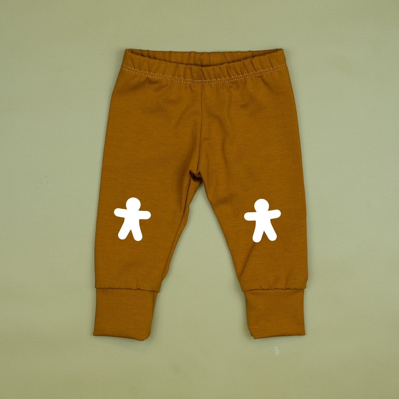 Cuddle Sleep Dream Joggers SOLID Gingerbread Slim Joggers w/ Knee Patches