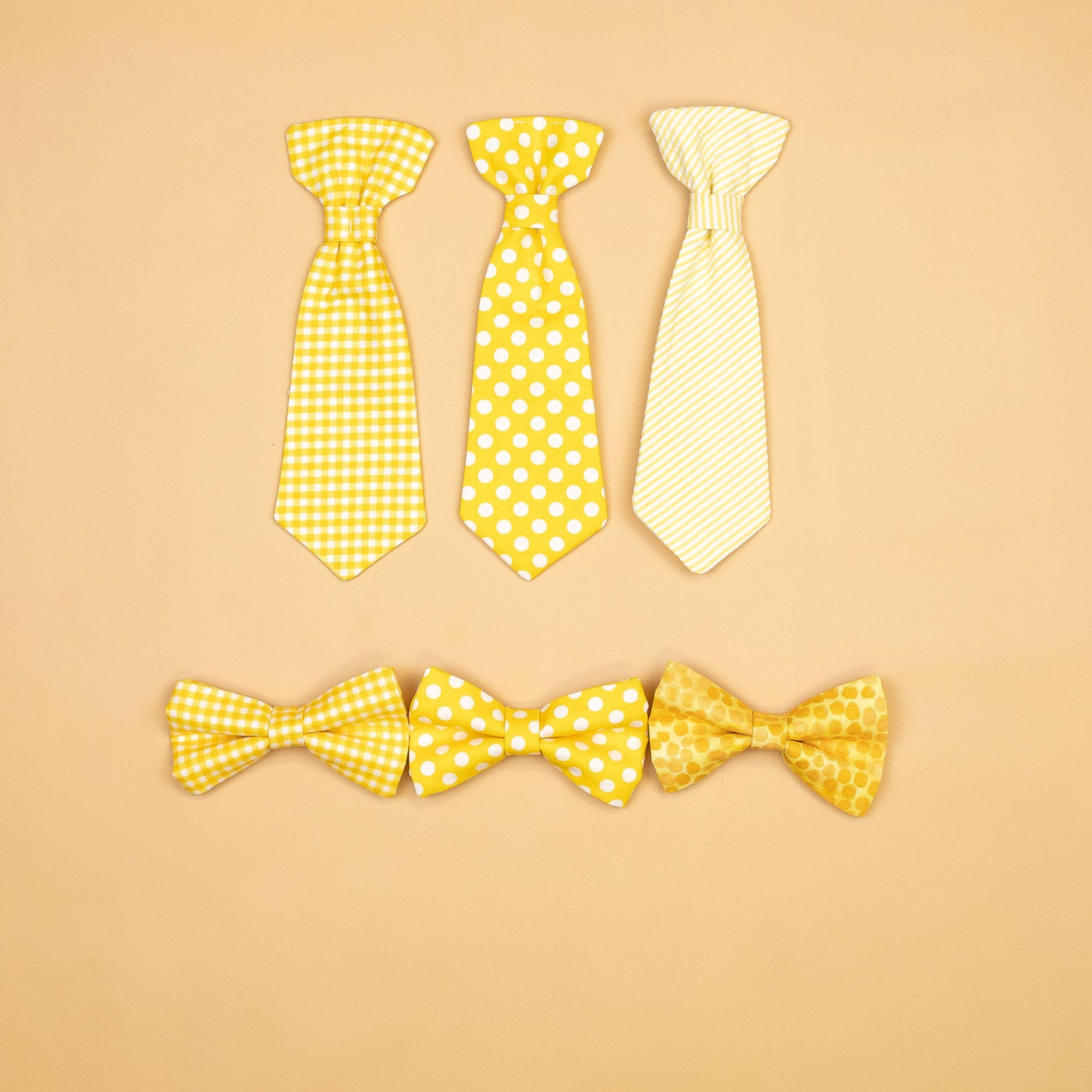 Cuddle Sleep Dream Ties Yellow Extra Ties