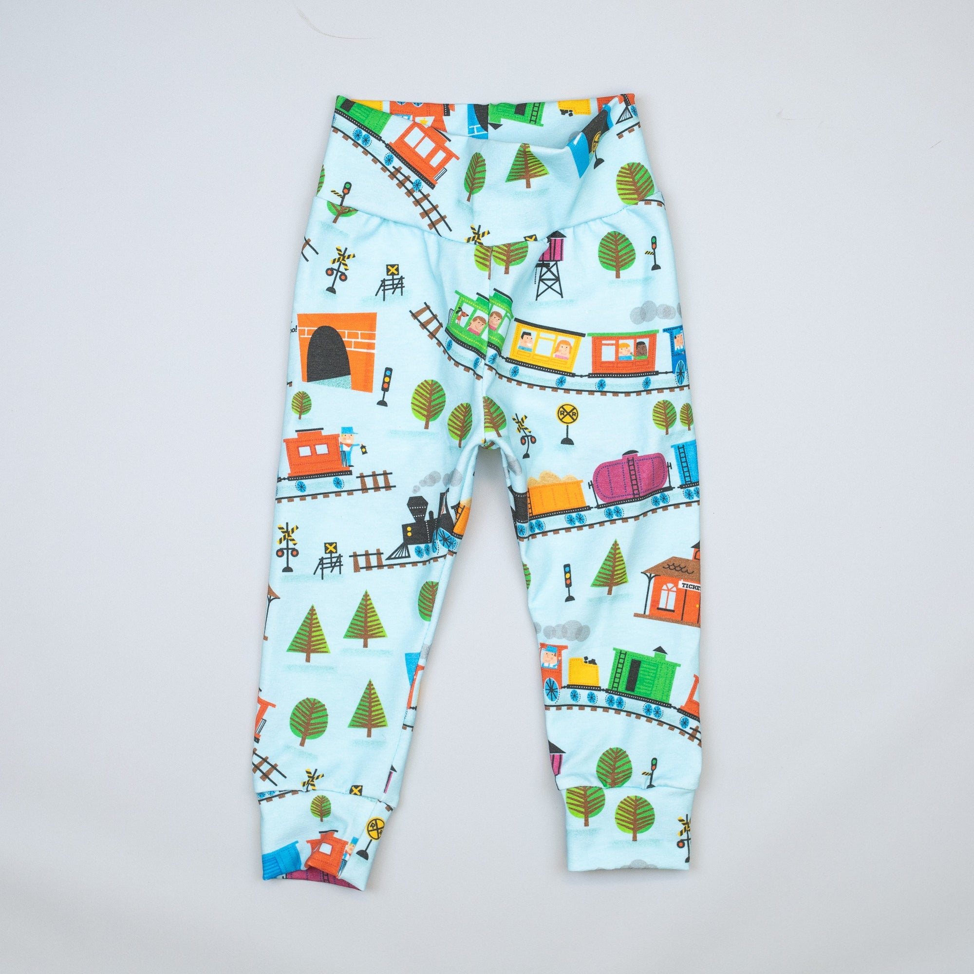 Cuddle Sleep Dream Pants Train Leggings