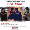 Tune Out Hoodie - INSTAGRAM GIVEAWAY!