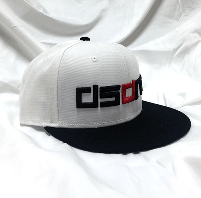 DSDNT White / Black SnapBack