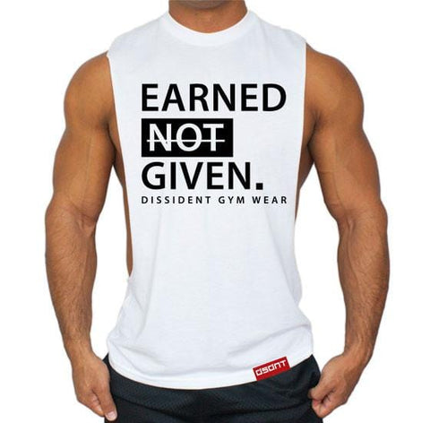 EARNED NOT GIVEN Deep Cut TEE