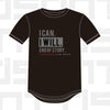 Performance Tee - I CAN. I WILL. - Black
