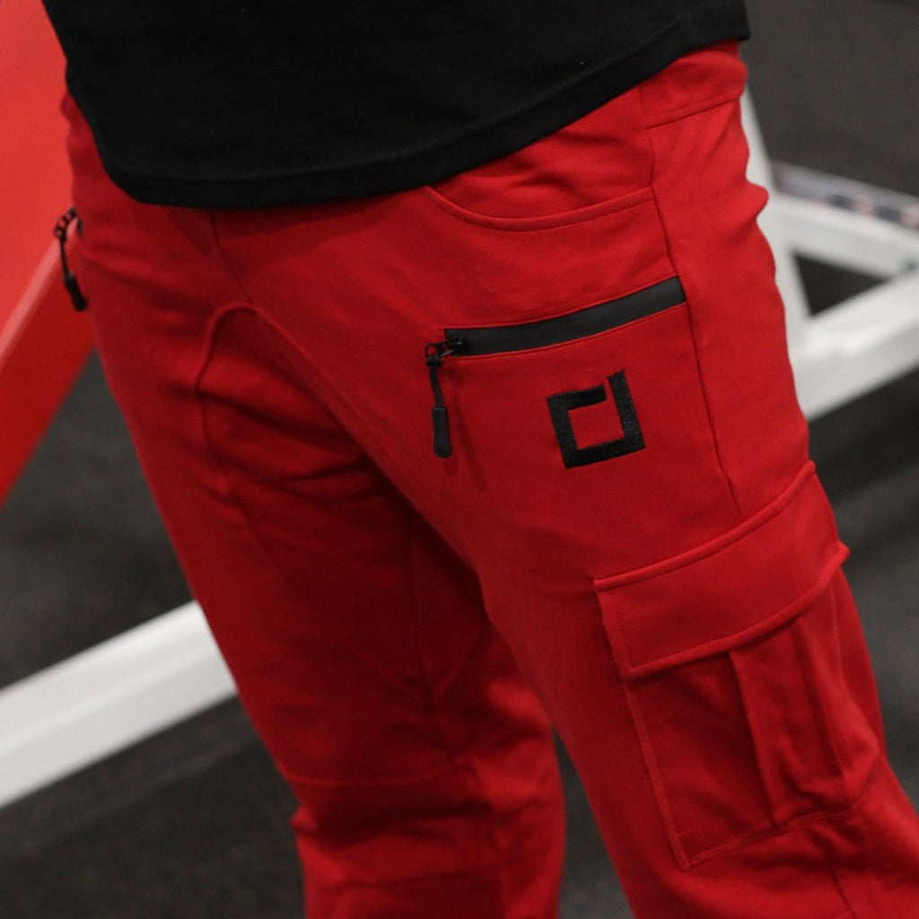 DSDNT Tactical Joggers Red
