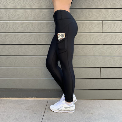 Limited Edition Anniversary - Contour Push-Up Leggings - Black/Gold
