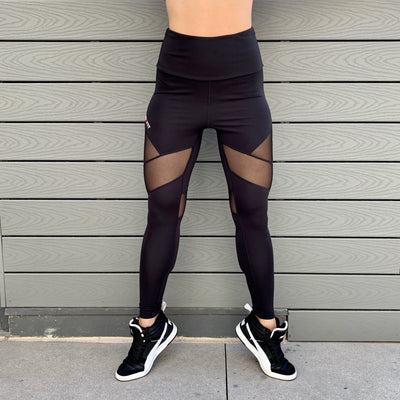 DSDNT Vento High Waist Leggings - Black