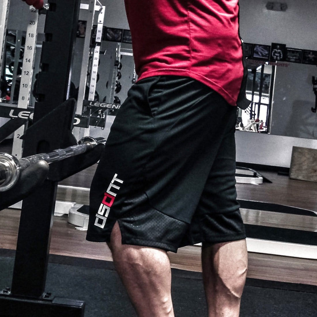 Never Quit Training Shorts Black