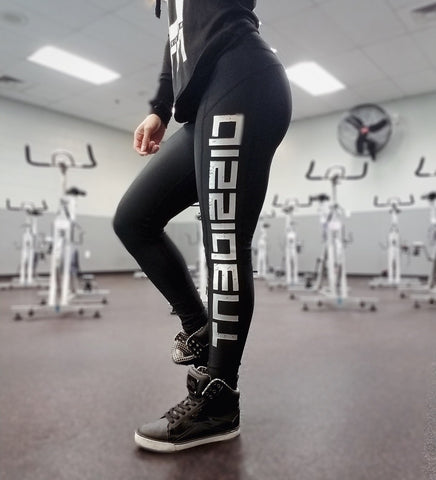 Contour Push-Up Leggings - Black/Platinum