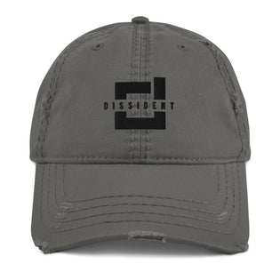 DSDNT Distressed Low Profile Hat Grey