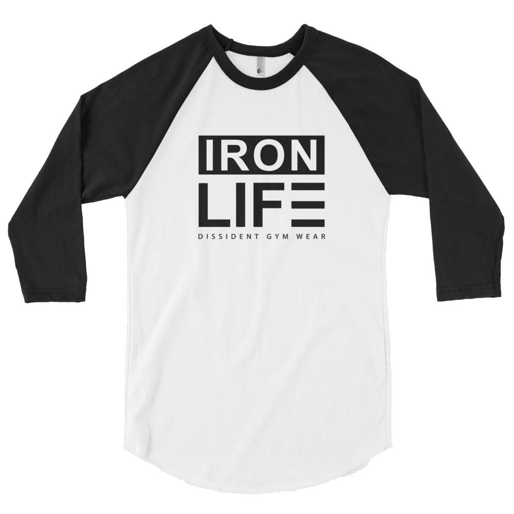 IRON LIFE 3/4 sleeve raglan shirt