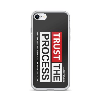 Trust The Process iPhone Case