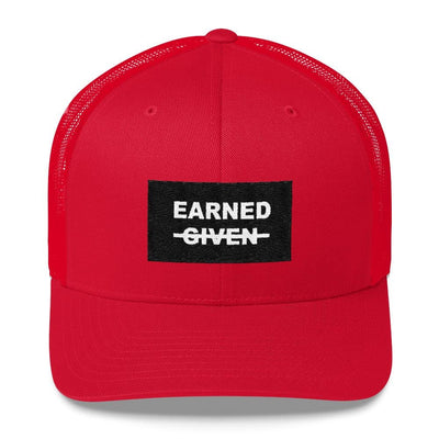 Earned not Given Low Profile Mesh Cap
