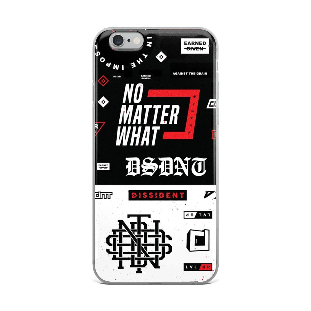 DSDNT Kaotic iPhone Case
