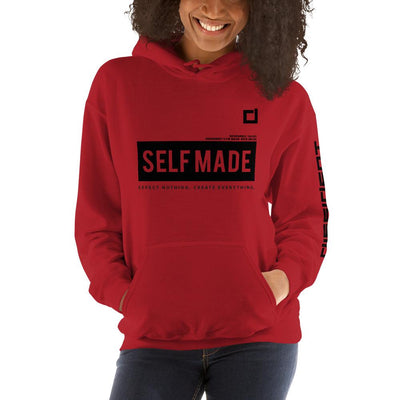 SELF MADE Hoodie - Red