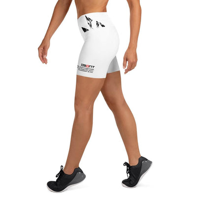 Self Made Compression Shorts White