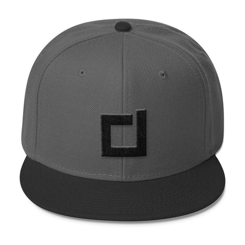 SnapBack - DSDNT D - Charcoal/Black