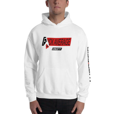 F*CK Average Unisex Hooded Sweatshirt
