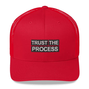 Trust The Process Hat - RED