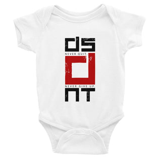 Infant DSDNT Never Quit Bodysuit