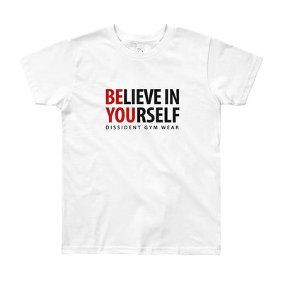 Believe in Yourself Youth Short Sleeve T-Shirt 8-12