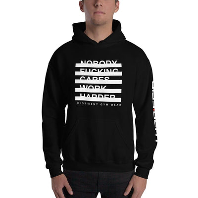 Nobody fucking Cares Unisex Hooded Sweatshirt