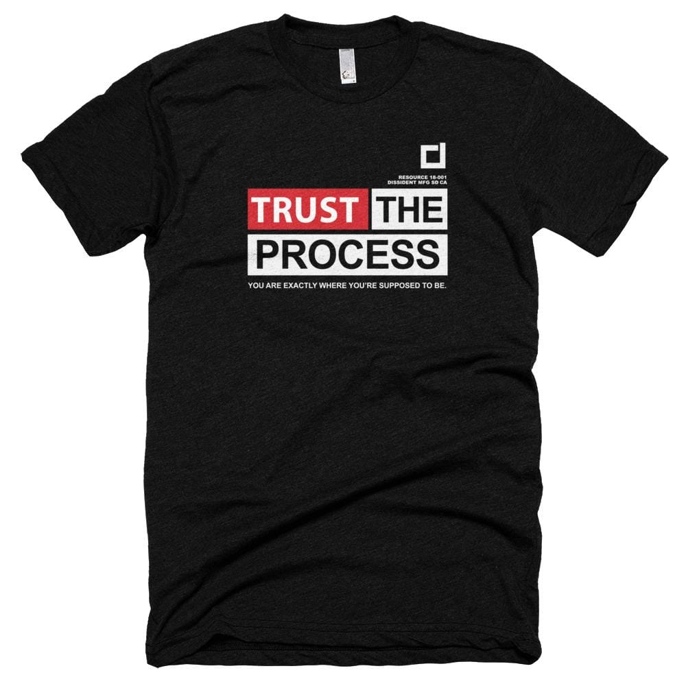 Trust The Process - Black