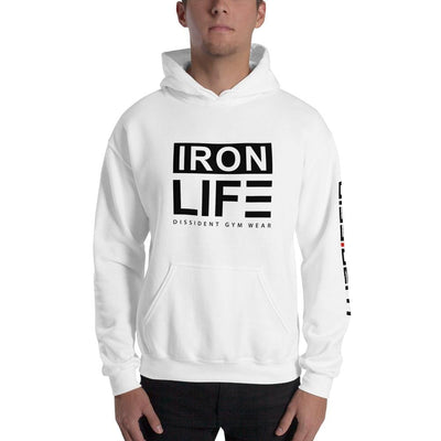 IRON LIFE Unisex Hooded Sweatshirt