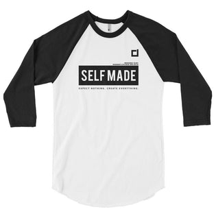 Self Made 3/4 sleeve raglan shirt