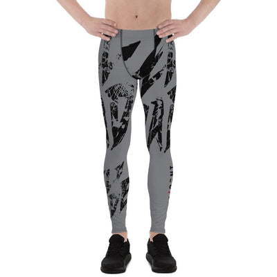 Self Made Compression Men's Leggings Grey