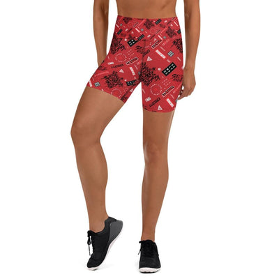 Zypher Shorts Red