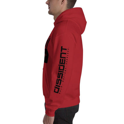 DISSI-DENT Hoodie - Red