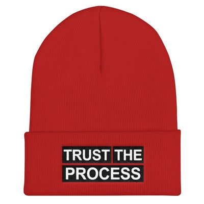 Trust The Process Cuffed Beanie