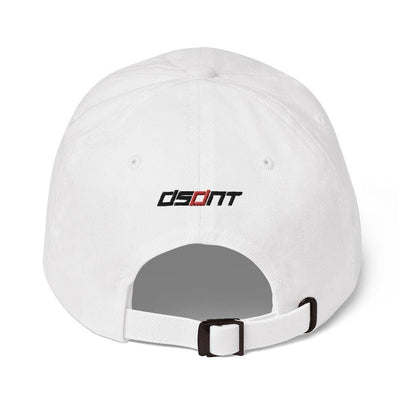 DSDNT D White Low profile cap