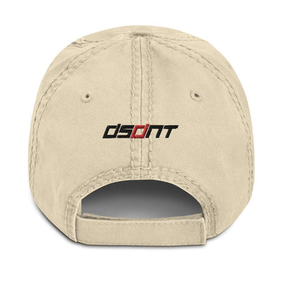 DSDNT Distressed Low Profile Hat Khaki