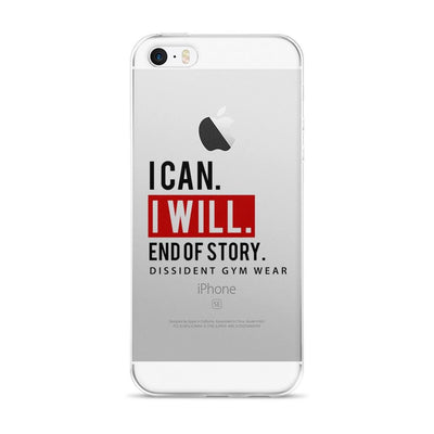I CAN. I WILL. - iPhone 5/5s/Se, 6/6s, 6/6s Plus, 7/7Plus Case
