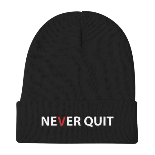 Beanie - Never Quit Knit