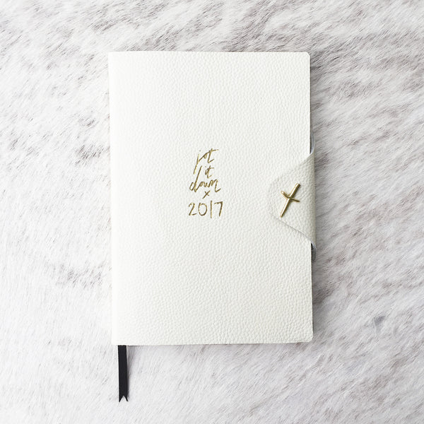 Jot it Down 2017 Diary Ivory