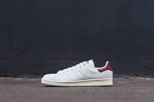 adidas Stan Smith - Footwear White/Collegiate Burgundy #CQ2195-Preorder Item-Navy Selected Shop
