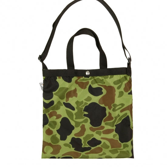 "Drifter Elementary Tote Bag ""Made in USA"" - Duck Hunter Camo #DF1615-Bag-Navy Selected Shop"