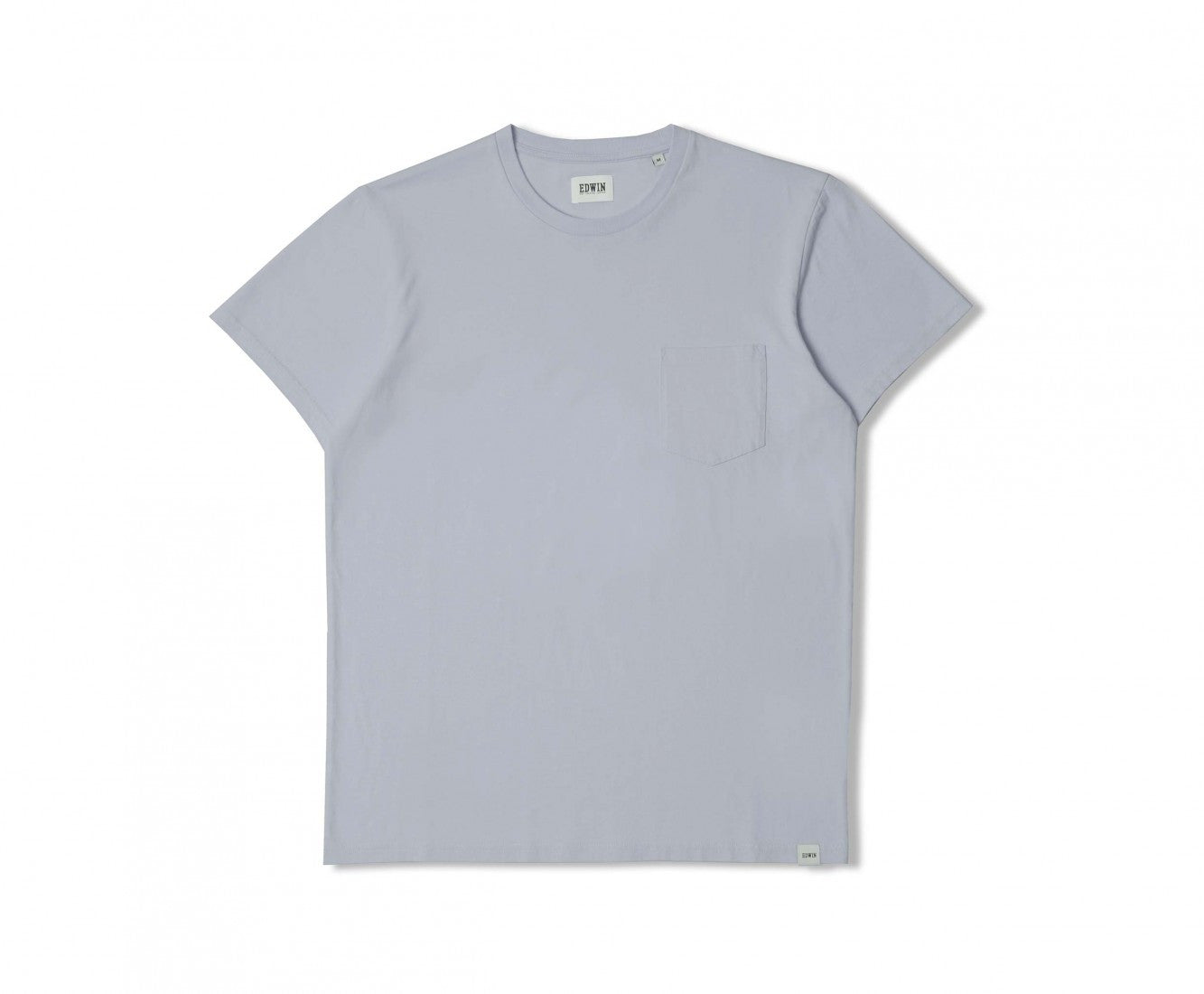 Edwin Europe Pocket Tee - Ciel Clair-Denim-Navy Selected Shop