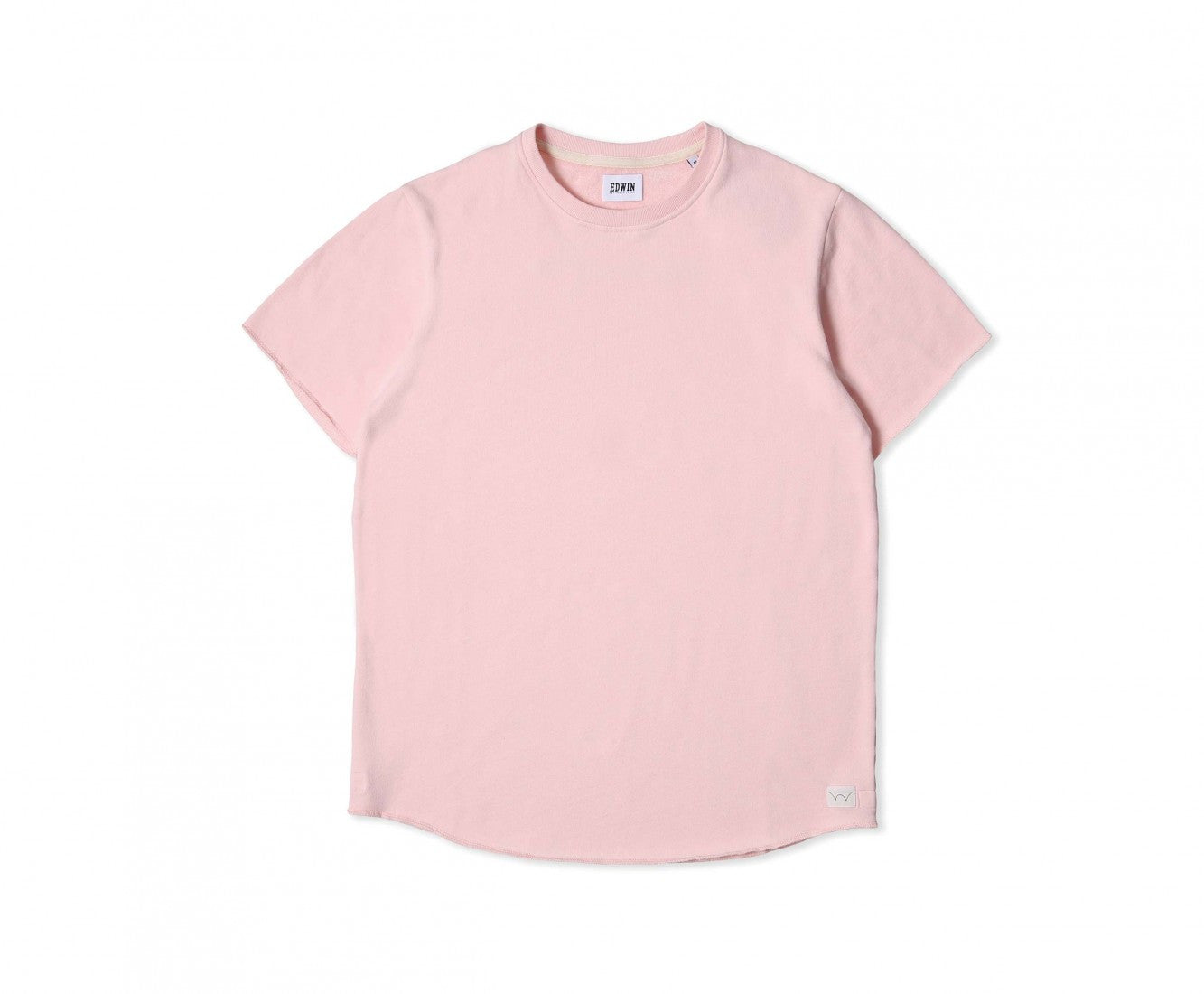 Edwin Europe Terry Tee - Pink-Denim-Navy Selected Shop